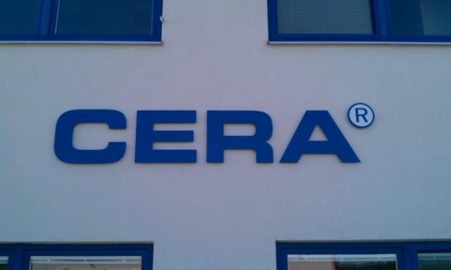 Einzelbuchstaben CERA