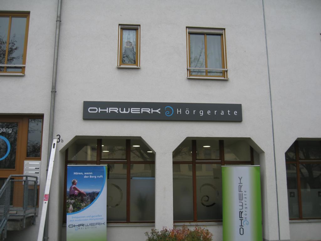 Schilder Ohrwerk Landsberg