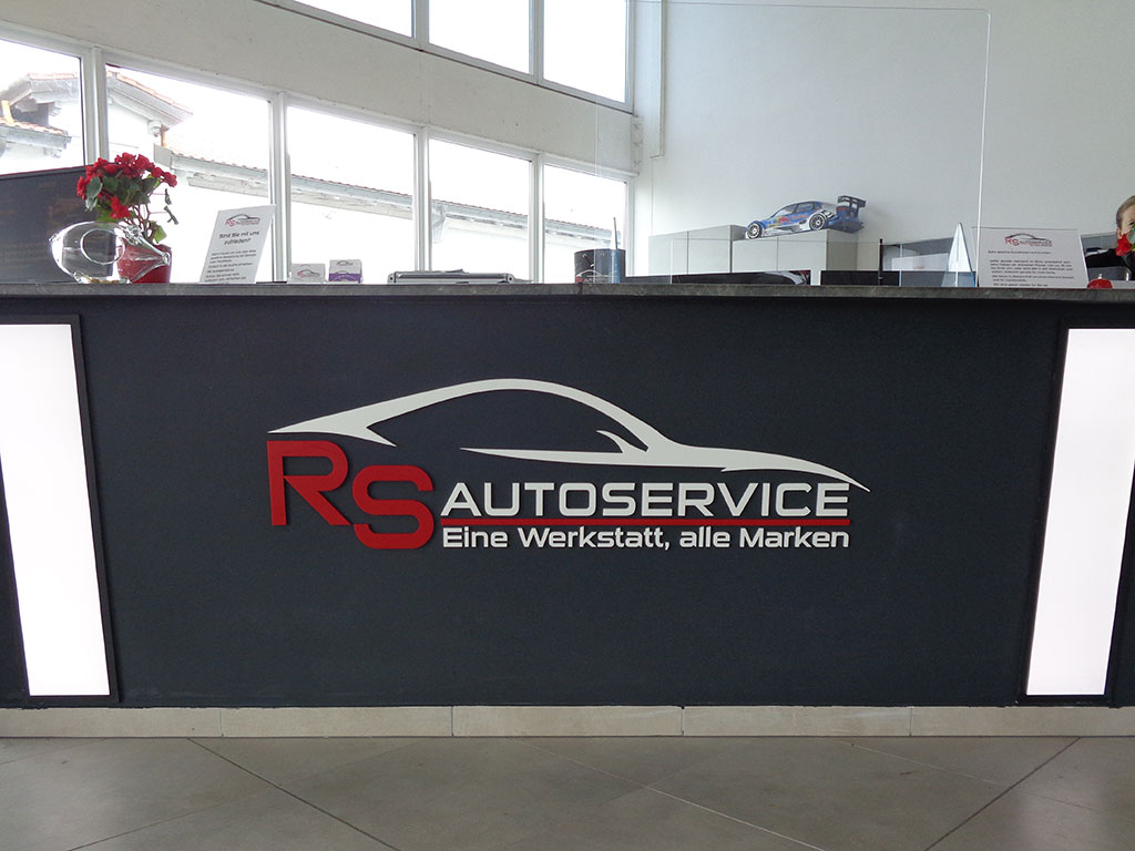 Einzelbuchstaben RS Autoservice