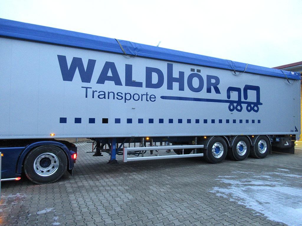 KFZ-Beschriftung Waldhör, Logo Werbung Landsberg